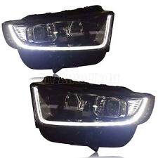 HID Headlights For Ford EDGE 2015-2016  with LED DRL Bi-Xenon Projector Lens