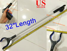 "32"" Aluminum Pick Up Grabber Reaching Reacher Claw Tool Gripper Kitchen Liter"
