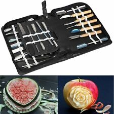 Agile-Shop Culinary Carving Tool Set Fruit Vegetable Food Garnishing / Cutting /