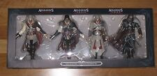 Assassins Creed II 2 Ezio Figure Collection Set - Figurine Complete Black - NEW