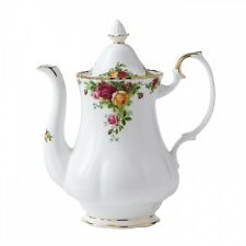 ROYAL Albert Old Country Roses-grande CAFFETTIERA-MADE IN ENGLAND!