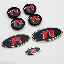 Dress Up R EMBLEM Badge 7EA 1SET For KIA All New Rondo Carens 2013 2014