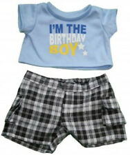 "I'm the Birthday Boy Outfit Teddy Bear Clothes Fit 14""-18"" Build-a-Bear and More"