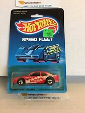 #11 Thunderbird Stocker 4916 * Red * 1988 Malaysia * Vintage Hot Wheels * E31