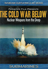 Cold War Below Polaris Submarine Regulus II Missile DVD