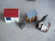 Lot of 3 Vintage 1960s HO Scale Small Buildings