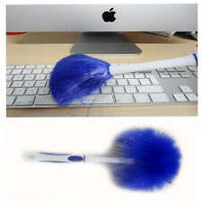 Blue Computer Desktop Keyboard Dust Cleaner Brush LED Screen Soft Clean Sweeper