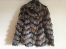 Women's Next Faux Fur Jacket, Size 12, BNWT