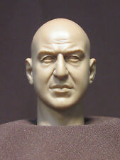 "Tête Custom resin head sculpt 12"". Figurines échelle 1:6. TELLY SAVALAS DM-25"