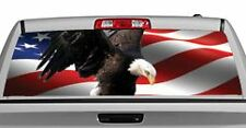 Truck Rear Window Decal Graphic [Patriotic / American Eagle] 20x65in DC23401
