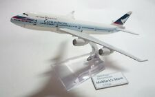 CATHAY PACIFIC AIRLINES CX Die cast Model in Box Boeing B747 1:500