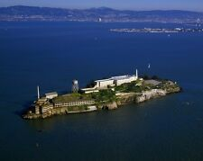 New 8x10 Photo: Aerial view of Alcatraz Island and Penitentiary, San Francisco