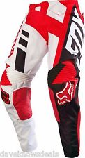 FOX motocross men's 360 HONDA pants 30,red/white 14963-003-30