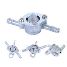 Motorcycle Motorbike Petrol Fuel Tap Tank Valve In-line On-Off Switch Durable