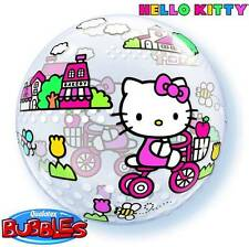 "22"" BUBBLE BALLOON ""HELLO KITTY"" PARTY DECORATION - STRETCHY"