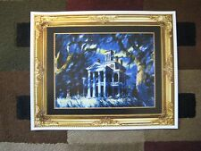 Vintage Disney - (Haunted Mansion Painting) - Collector's Poster Print - B2G1F
