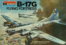 Monogram 1:48 B-17G Flying Fortress Plastic Aircraft Model Kit #5600U