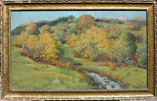 Andreas Roth (1872 - 1949) Landscape Painting dated 1924