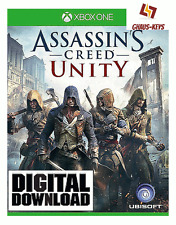 Assassins Creed Unity Xbox ONE Key Game Download Code Neu [Blitzversand]
