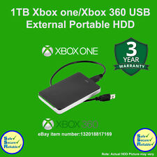 Xbox 1TB Portable USB3.0 External Hard Drive for Xbox One/ XBOBX360**BRAND NEW**