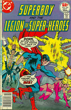 SUPERBOY AND THE LEGION OF SUPER-HEROES #232 VF, SATURN GIRL, DC Comics 1977