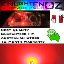 2 x RED EnlightenOz T10 LED Parker Bulbs - Patrol GQ GU - ALL VARIANTS