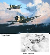ROBERT TAYLOR Wolfpack/Pack of Wolves P-47 Thunderbolt 56th Bomb Group 2 Print