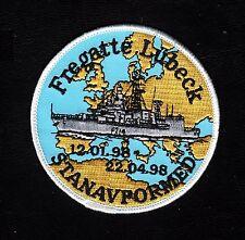 3006/Deutsche Marine-Patch-f 214-fragata Lübeck