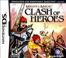 Nintendo DS Might & Magic Clash of Heroes New