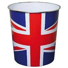 WASTE PAPER BIN, UNION JACK DESIGN