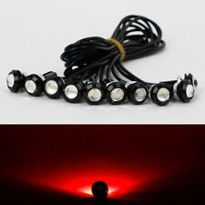 10X 9W LED DRL Eagle Eye Light Car Motor Fog Daytime Reverse Signal Red Bulb New
