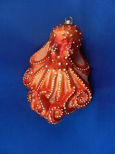 Octopus Salt Water Fish Sealife Glass Christmas Tree Ornament Poland 011231