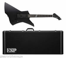 ESP LTD James Hetfield Snakebyte Black Satin BLKS NEW Guitar + FREE Hard Case!