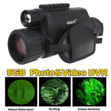 BOBLOV 5x40 Infrared Dark Night Vision Monocular Binoculars Video DVR for hunt