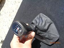 2006-2011 BMW E90 E92 E93 M3 335i 328i 330i 325i LEATHER SHIFTER KNOB 6-SPEED