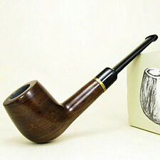 New Hand Made Wood Tobacco Smoking Pipe Ebony Wood Pipe High Quality Gift Pipe