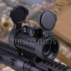 Holographic Reflex Laser Red Green Dot Sight Scope 20mm for Rifle Picatinny Rail