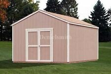 12x16 Gable Storage Shed Plans, Buy It Now Get It Fast!