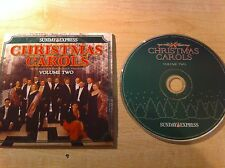 CHRISTMAS CAROLS CHOIR St Brides Church Volume TWO MUSIC CD Xmas Songs Dinner