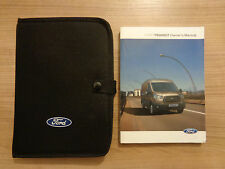 Ford Transit Owners Handbook/Manual and Wallet 13-16
