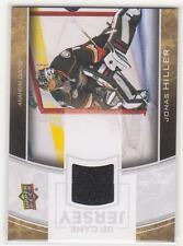 2013/14 Upper Deck UD Game Jersey Jonas Hiller jersey card Anaheim Ducks