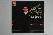 Schumann Youri Egorov - Carnaval Papillons 067-43139 EMI Schallplatte LP 27