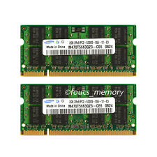 New Samsung 4GB (2x2GB) PC2-5300 DDR2 667MHz 200pin SO-DIMM Laptop Memory