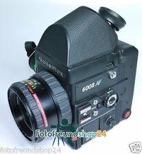 Rollei Rolleiflex 6008 AF + Schneider Xenotar 2.8/80 PQS + 45° Prismensucher