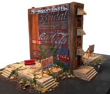 Downtown Deco HO Scale Worst Block in Town New Kit! Hydrocal Craftsman + Decals