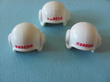 PLAYMOBIL @@ CHAPEAU BLANC @@ CASQUE HAT @@ WESTERN @@ PIRATE @@ PERSONNAGE B01