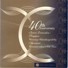 Singapore CIA 40th Anniversary Commemorative $20 Set UNC