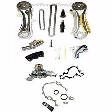 97-10 4.0L FORD MAZDA SOHC TIMING CHAIN KIT+WATER PUMP+TIMING COVER GASKET KIT
