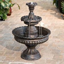 Water Fountain 3 Tier Outdoor Backyard Garden Waterfall Yard Electric NEW Patio