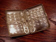 Vintage Elgin Sterling Silver Cigarette Case